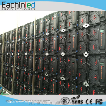 Front service/repair/disassemble led video walls P3.9/P5.95mm