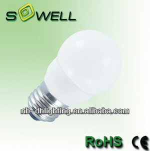 G45 energy saving lamp 3W/5W/7W,45*89mm,Ivory-white,pbt plastic,E14/E27 CE GS EMC ROHS