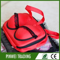 New design bra travel bag for female