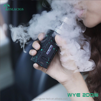 Teslacigs WYE 200W vape mod kits with tank edition atomizer