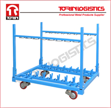 Auto parts storage metal wire pallet rack