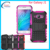 TPU+PC stand hybrid case cover for samsung galaxy j1 ace