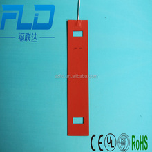 Cusotmize 12v 24v silicone rubber band heating element