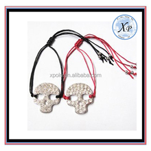 Popular Wholesale Vintage crytal skull Bracelet Jewelry