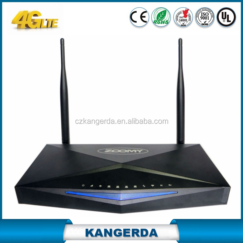 3G 4G LTE wifi router 4 Ethernet Ports with sim card slot 750Mpbs openWRT