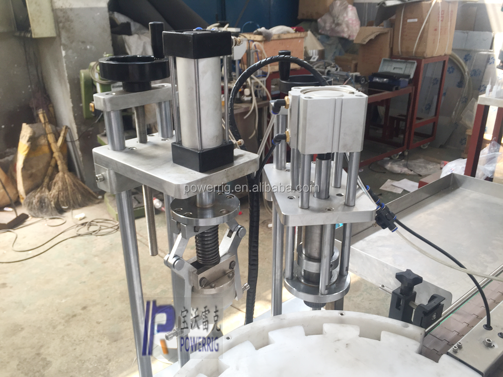 Hot sale perfume filling capping machine