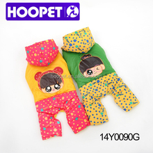 Jackets with dots for pet dog clothes fashion dog bows ties