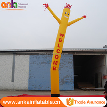 Mini inflatable desktop sky air dancer dancing man