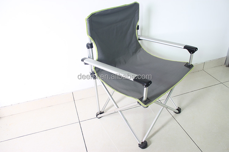 Deluxe cotton fabric camping chair from Chinese Excellent Factory