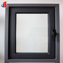 Hot Iron Grill Sash Windows And Champagne Color Aluminum Sliding Window