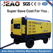 100% Quality Guarantee HG550M-13 Minimal Downtime Operation Portable Air Compressor For JBP150B Mining Rock Drill Rig
