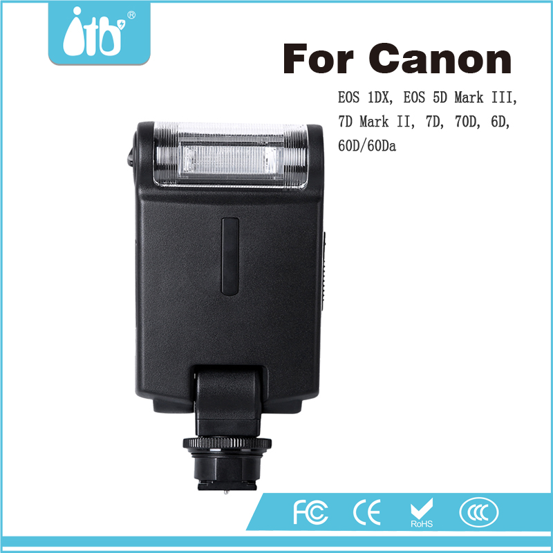 Camera flash speedlite for Canon EOS 1DX EOS 5D Mark III 7D Mark II 7D 70D 6D 60D/60Da T5i/T4i/T3i/T2i T5/T3