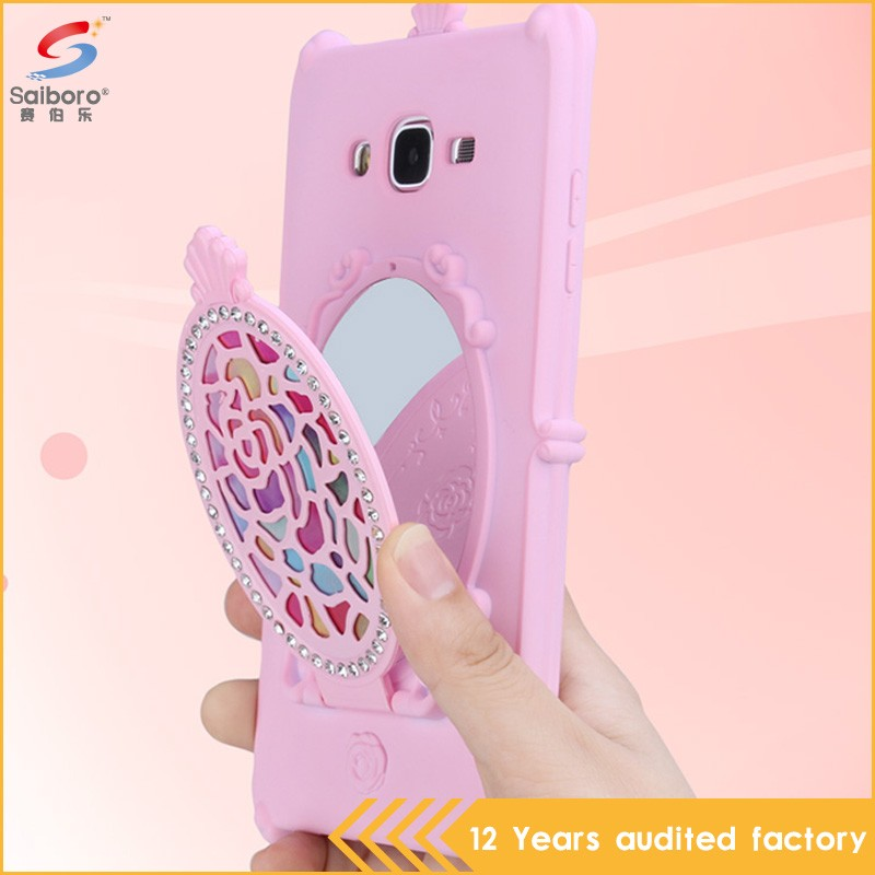 Fast delivery low moq cute silicon cover for samsung galaxy y