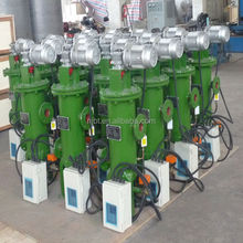 Industrial use cooling water use sucking type auto backwash water filter