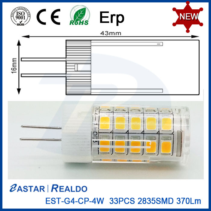G4 Led Bulb Light 4W High Quality Led G4 Led Lamp G4 Led Down Lighting