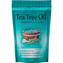 Tea Tree Oil Foot Soak With Epsom Salt, Helps Treat Nail Fungus , Athletes Foot & Stubborn Foot Odor