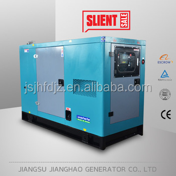 Cheap price silent type 24kw 30kva diesel generator for family home