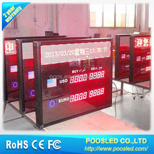 exchange foreign sign signage \ exchange money \ exchange rate banner display