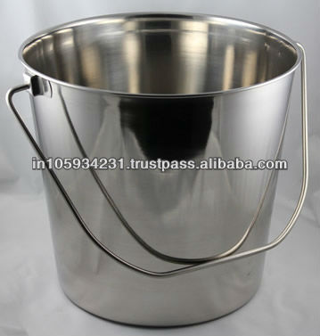 Stainless Steel Milk Pails