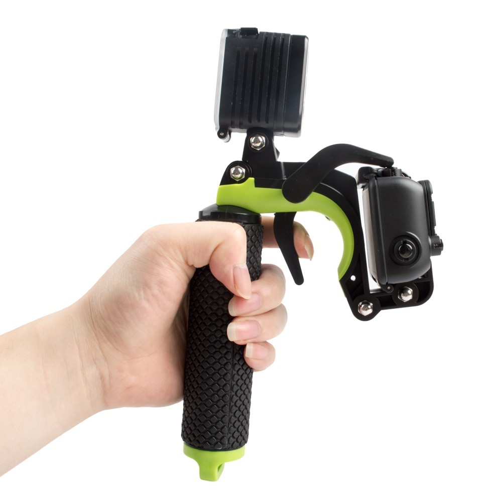Gopros Shutter Mount Section Pistol Trigger Set Floating Handle Accessories for Go pro Housing Case for Heros 5 4 3+