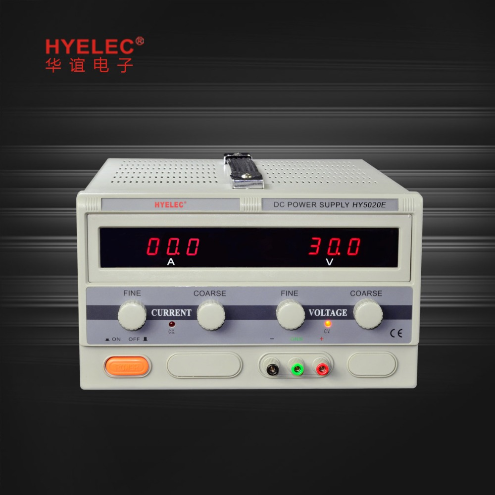0-50V/0-20A DC Power Supply HY5000E Series Switching Power Supply DC OUTPUT