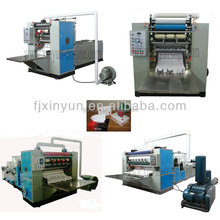 2-8 Output Lanes Full Automatic Face Tissue Folding Machine