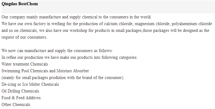 Calcium Chloride 94% Min-Calcium Chloride Anhydrous-CaCl2