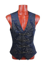 Y-452 Hot Sale Fancy Colorful Western Style Waistcoat Vests for Men