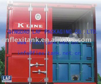 used cooking oil transported by flexitank or UCO flexibag