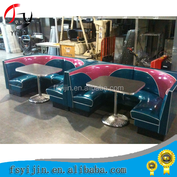 Classic bar club booth seat for sale night club banquette for Y h furniture trading
