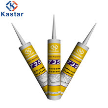 OEM mildew resistant sealant for aquarium glazing