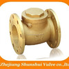 Forged Brass Flanged Check Valve Brass