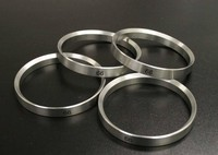 aluminum rings CNC turning custom anodized aluminum/stainless steel rings