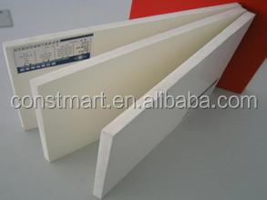 Perforated reflective wpc foam panel white pvc