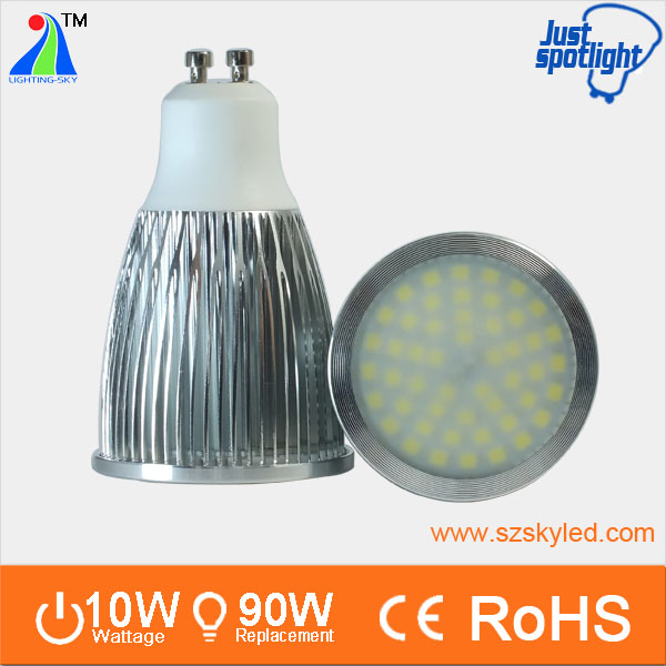 wide beam angle 120 degree high power <strong>9w</strong> 10w 1000lm gu 10 <strong>led</strong> spot 10w 2700k