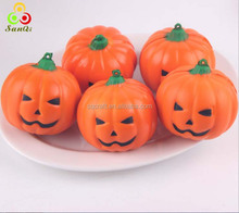Kawaii squishy slow rising pumpkin, Anti stress squeeze pumpkin ball, Yiwu SanQi Craft Factory