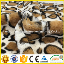 Printed super soft plush leopard tiger cow pattern velvet fabric for sofa,bolster,slipcover and shoes lining