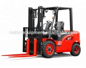 High Quality 5 Ton China Empilhadeira Montacargas Diesel Forklift Truck With UK Engine