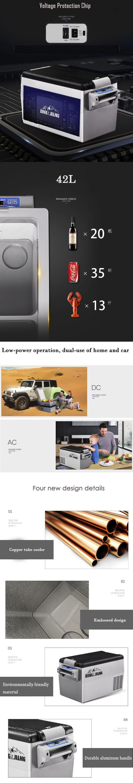 portable compressor fridge freezer