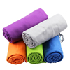 microfiber towel factory directly double-sided velvet soft hand towel/sport towel