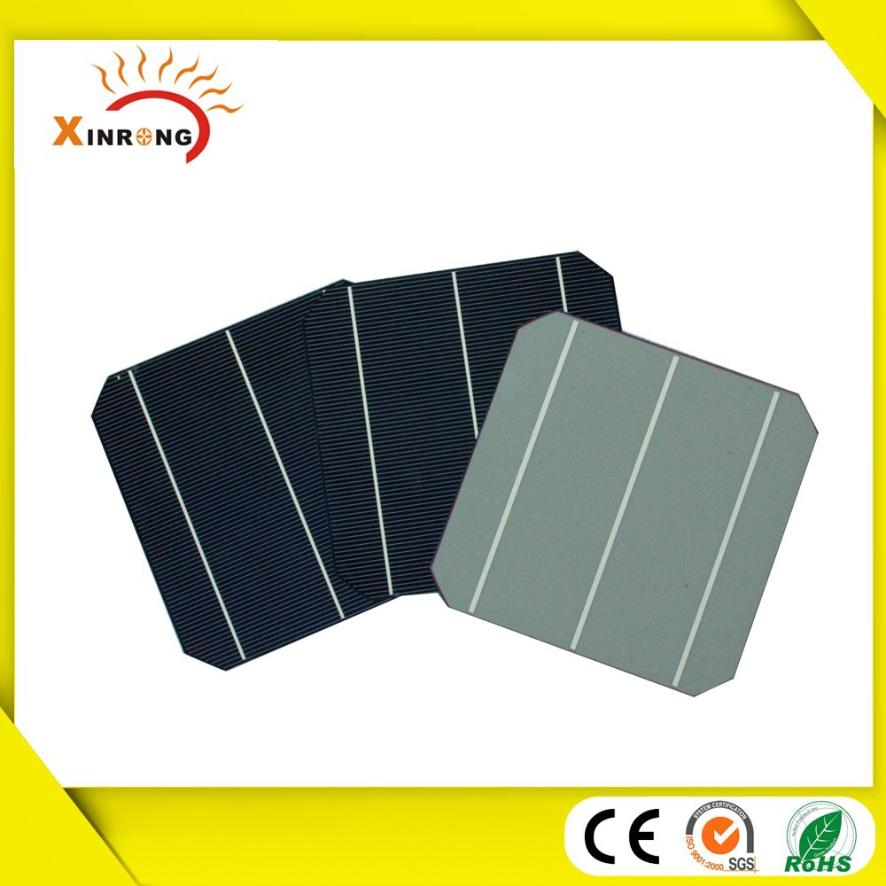 156mm Monocrystalline Silicon Material Size and High Efficiency Solar Cell 156