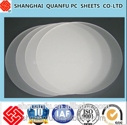 diffuser pc panel 2mm uv polycarbonate sheet with ten years warranty (lexan flat sheet) architectural roof ten-year warranty 6mm