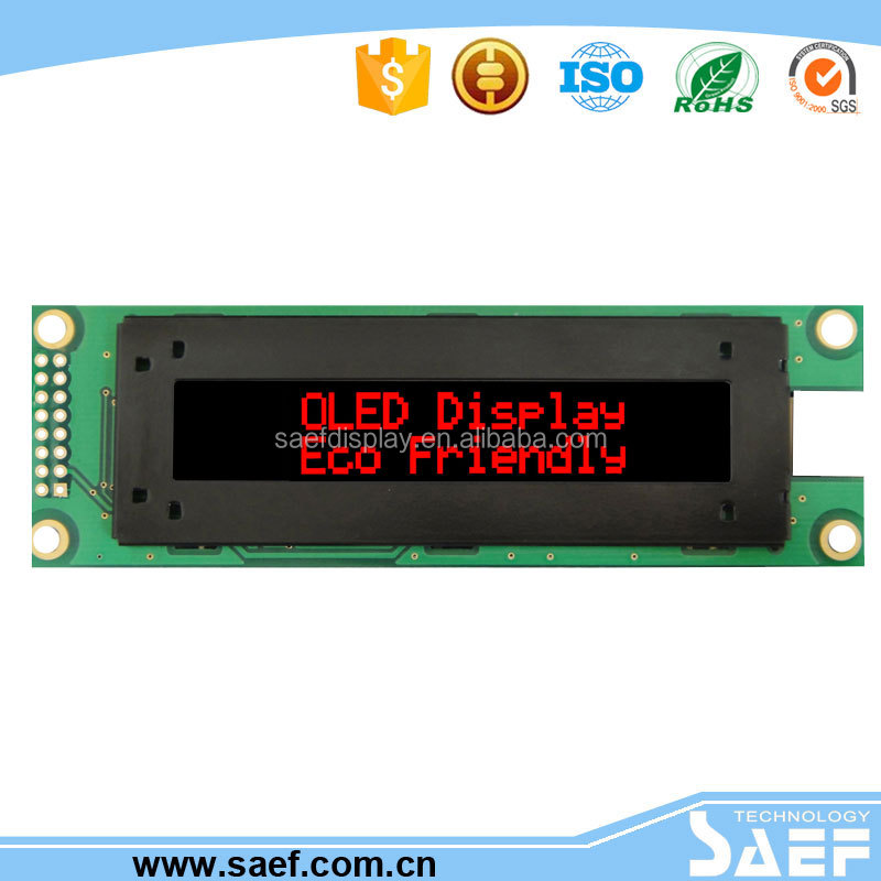 Cheap oled lcd display 2.93 inch character lcd module and connect FFC interface