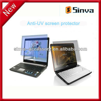Eye protection innovation of anti-uv screen protector for laptops with factory price