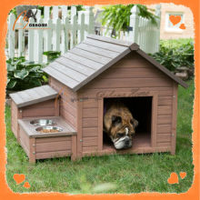 Solid home new design cheap large dog house wood