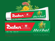 OEM HERBAL TOOTHPASTE DABUR BRAND 100G