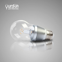 CE/RoHs listed yunsun led bulb lights for auto 24 volt, led bulb with timers, flicker free led bulb