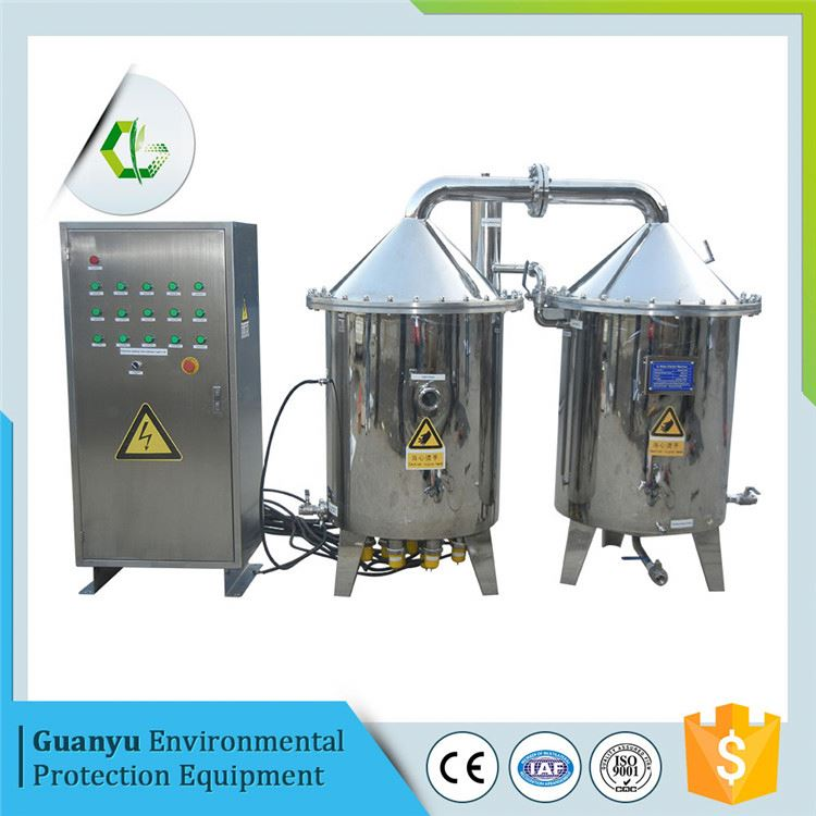 stainless steel purified water and distilled water destilator