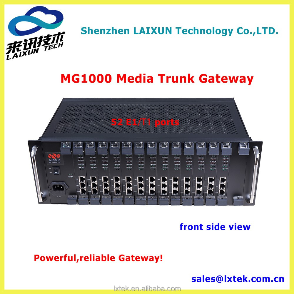 E1/T1 media trunk Gateway with sip protocol,VoIP Gateway,MG1000