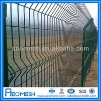 galvanized/pvc coated fence factory wire mesh panel C